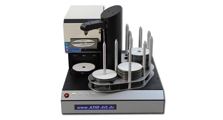 DVD Kopierroboter mit DVD Drucker
